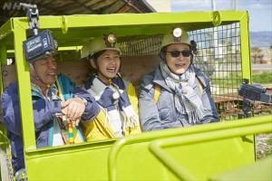 ブラタモリ-長崎-池島炭鉱跡1-トロッコ-NHKより