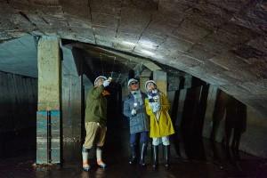長崎-戦前の石橋を道路の下で見学-石橋(地名)-ブラタモリ