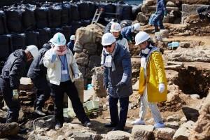 長崎-出島跡の発掘現場-ブラタモリ