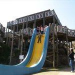 西海橋公園_アスレチック_落下式滑り台