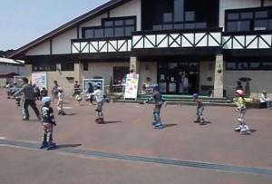 えぼしスポーツの里-ローラースケート