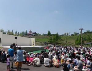 えぼしスポーツの里-野外ステージ