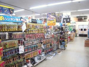 ハイマート釣具売り場