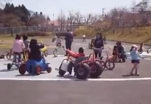 えぼしスポーツの里-おもしろ自転車