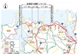 松浦佐々道路_地図