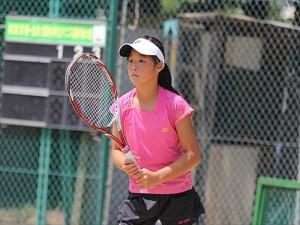 川口夏実-優勝-第31回第一生命全国小学生テニス選手権大会