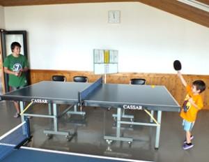 えぼしスポーツの里-卓球