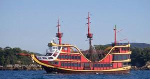 九十九島パールシーリゾート-電気推進遊覧船「みらい」