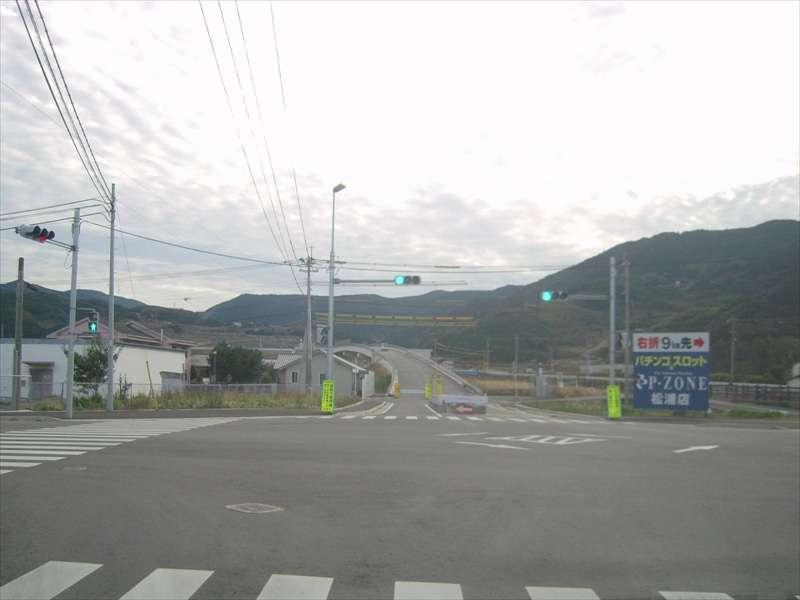 西九州自動車道 山代久原IC~今福IC 工事状況 2015年1月中旬
