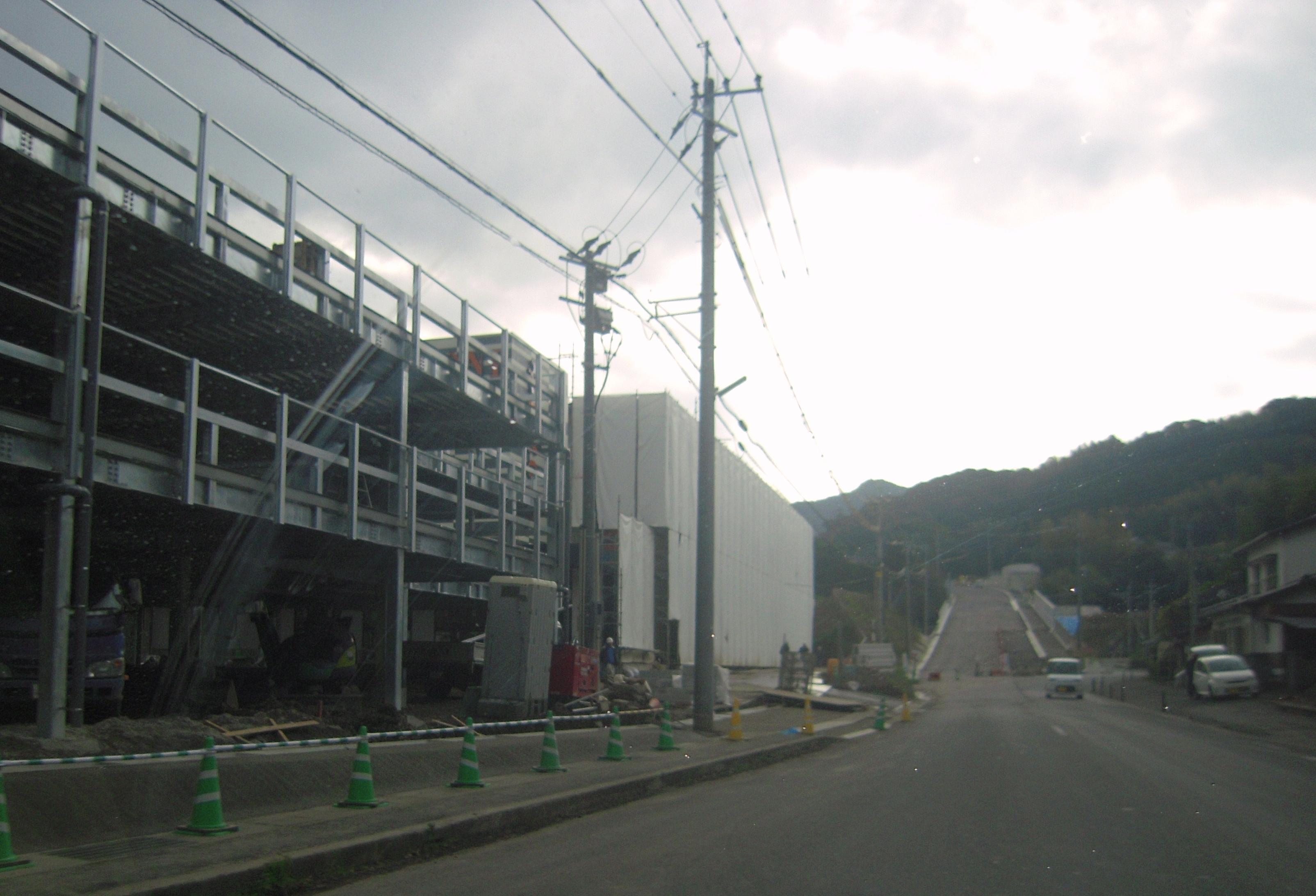 P-ZONE松浦店-12月7日工事状況-3