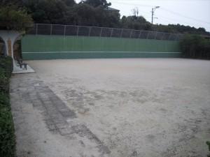 田平公園-テニス壁打ち(ゲートボール)場-1